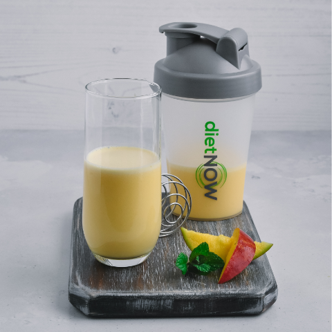 Mango flavoured meal replacement shake